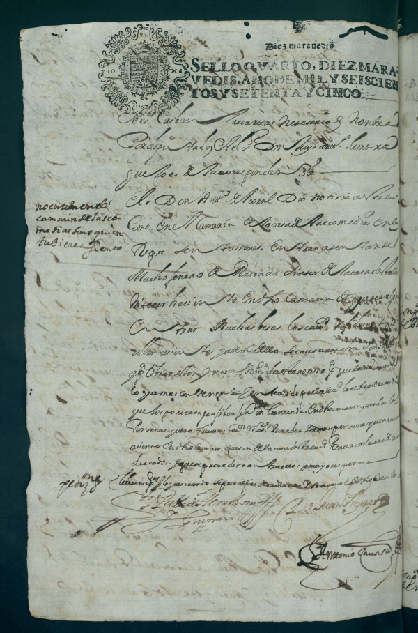 Documento del Archivo Municipal.
